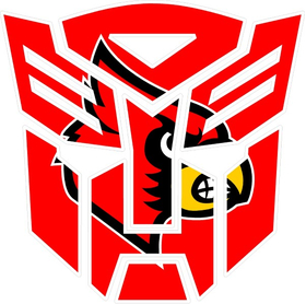 Autobot Cardinals Decal / Sticker 31
