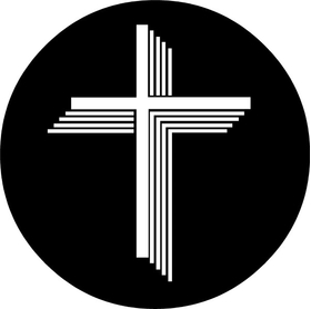 Christian Cross Decal / Sticker 84
