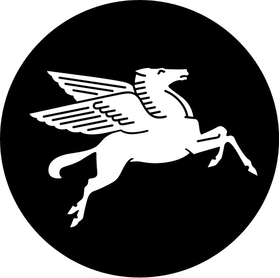MobilGas Pegasus Decal / Sticker 17
