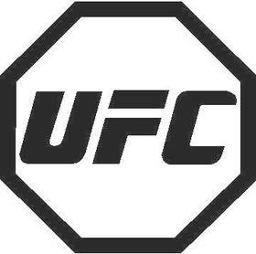 UFC Decal / Sticker 02