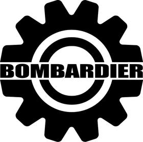 Bombardier Decal / Sticker 10