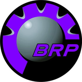 Purple BRP Decal / Sticker 15