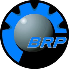 Octane Blue BRP Decal / Sticker 16