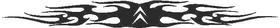Citroen Tribal Decal / Sticker 01