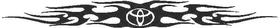 Toyota Tribal Decal / Sticker 01