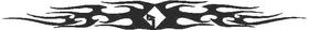 Rockford Fosgate Tribal Decal / Sticker 01
