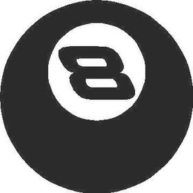8 (eight) ball decal / sticker