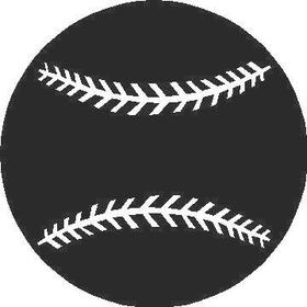 Baseball 2 Decal / Sticker