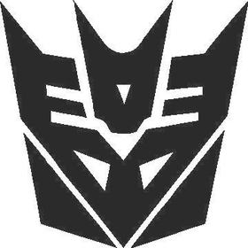 Decepticon Decal / Sticker 08