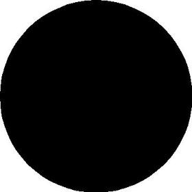Circle Decal / Sticker