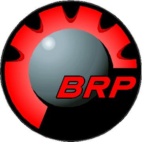 Red BRP Decal / Sticker 05