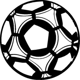 Soccer Ball Decal / Sticker