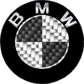 BMW Carbon Fiber Decal / Sticker 15