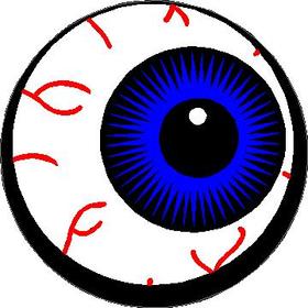 Eyeball Full Color Decal / Sticker