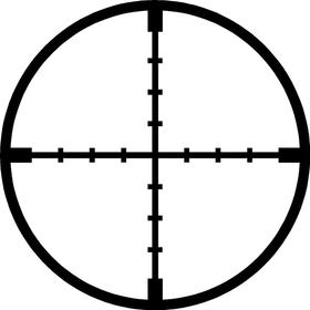 Scope Crosshairs Decal / Sticker