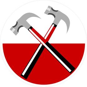 Pink Floyd Hammers Decal / Sticker 07