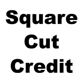 Square Cut Custom Credit