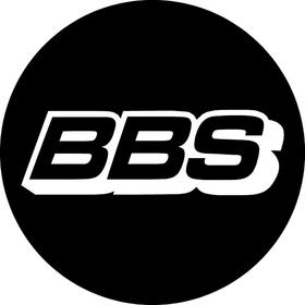 BBS Wheels Centercap Decal / Sticker 02