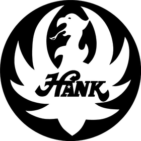 Hank Williams Jr. Decal / Sticker 2