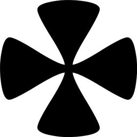 Christian Cross Decal / Sticker 29