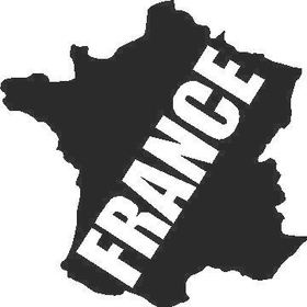France Decal / Sticker