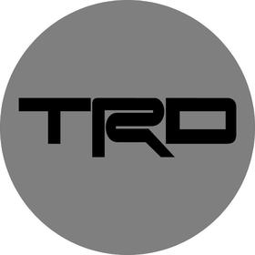 Toyota TRD Circular Decal / Sticker 12