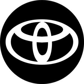 Circular Toyota Decal / Sticker 07