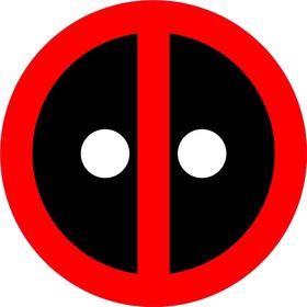 Deadpool Decal / Sticker 01