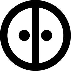 Deadpool Decal / Sticker 02