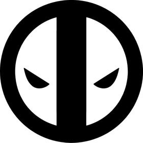 Deadpool Decal / Sticker 03