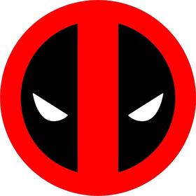 Deadpool Decal / Sticker 04