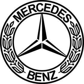 Mercedes Decal / Sticker 03