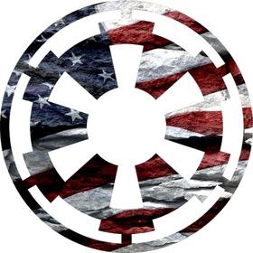 Star Wars Imperial Texas Flag Decal / Sticker 05