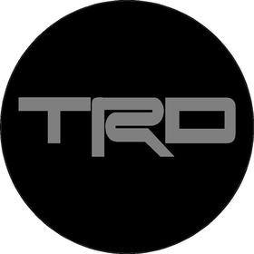 Toyota TRD Circular Decal / Sticker 14