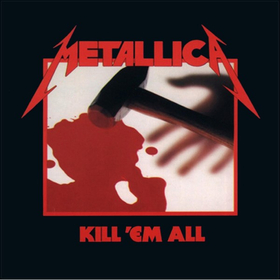 Metallica Kill 'Em All Decal / Sticker 16