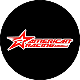 American Racing Decal / Sticker 04
