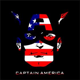 Captain America Decal / Sticker 02