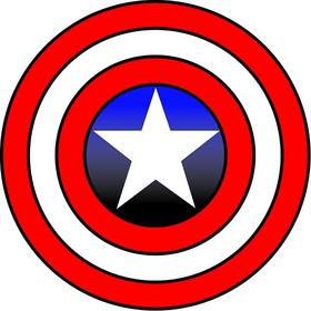 Captain America Shield Decal / Sticker 03