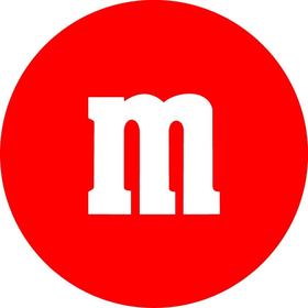 Red M&M Decal / Sticker 29