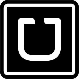 Uber Decal / Sticker 07