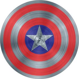 Captain America Shield Decal / Sticker 09