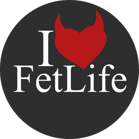 I Love FetLife Decal / Sticker 02