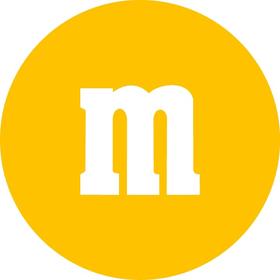 Yellow M&M Decal / Sticker 34