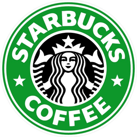 Starbucks Coffee Decal / Sticker 01
