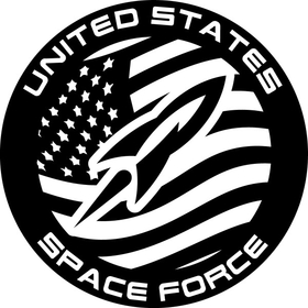 United States Space Force Decal / Sticker 02