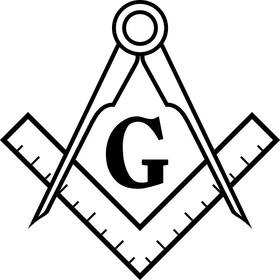 Freemason Decal / Sticker 03