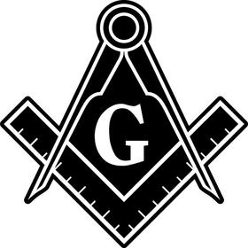 Freemason Decal / Sticker 04