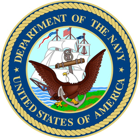 Department of the Navy Decal / Sticker 09
