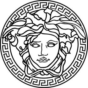 Versace Decal / Sticker 04