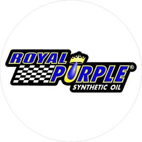 Circular Royal Purple Decal / Sticker 06